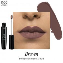 The Lipstick Matte & Fluid - Brown