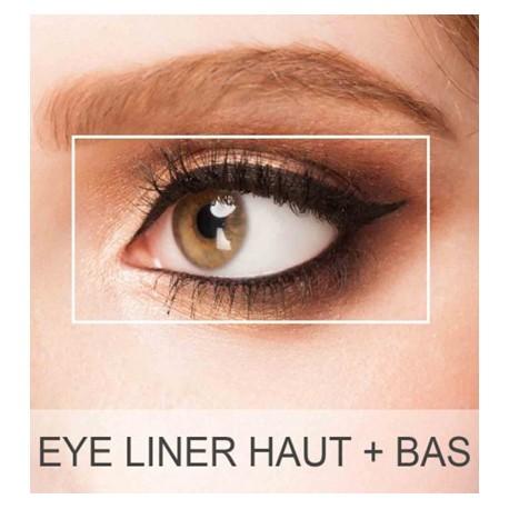 Maquillage permanent yeux - Eye liner haut + bas (Retouche incluse)